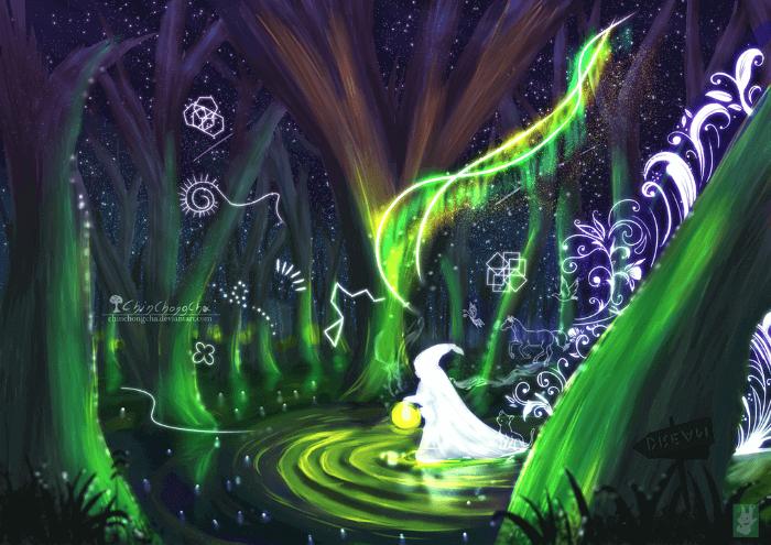Чудесный лес во сне