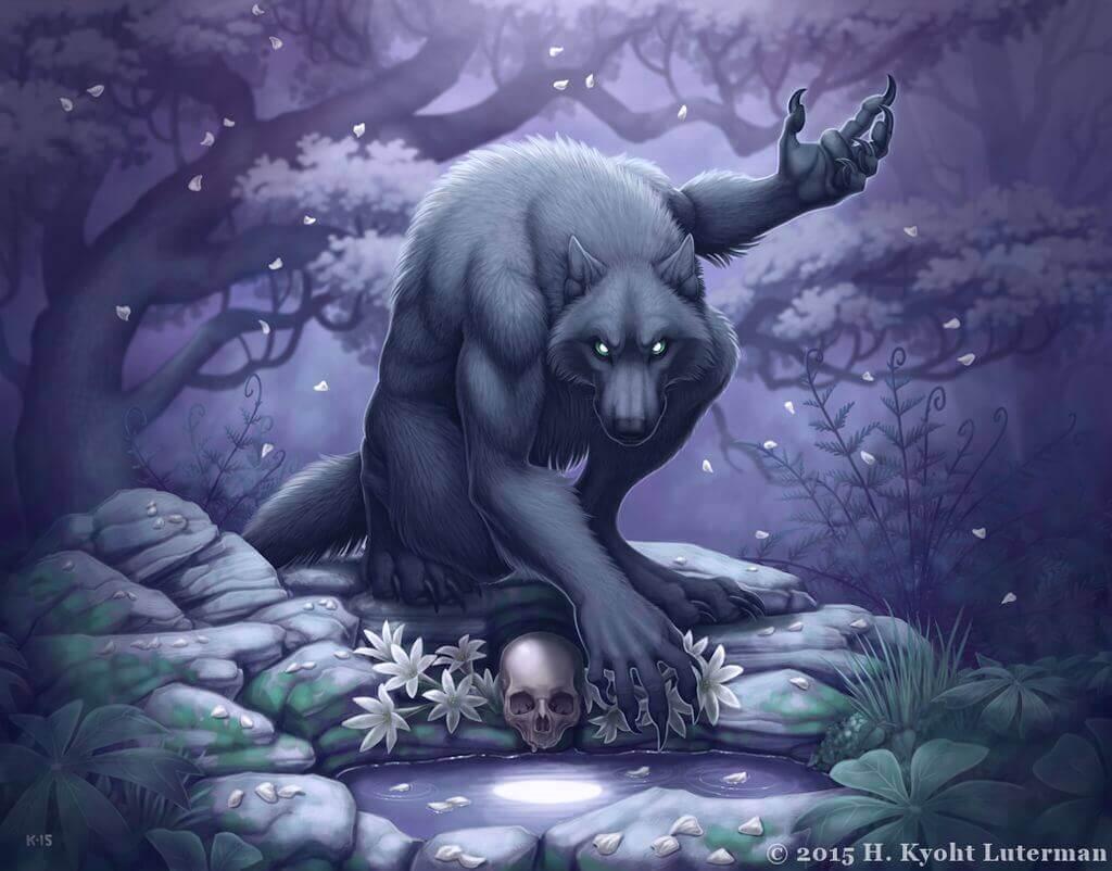 Волколак - колдун