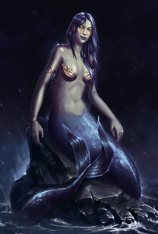 Русалка - водный суккуб