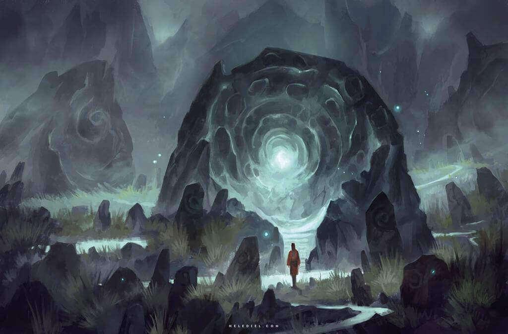 Переключение между снами напоминает путешествие между порталами