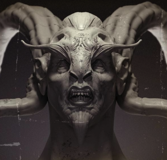 Фотография ламии (статуя)