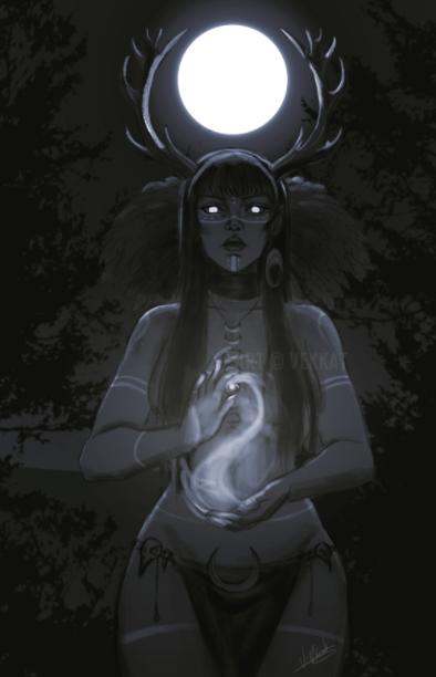 Ведьма и полнолуние