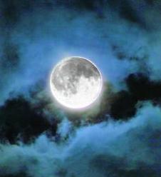 Фотография полной луны
