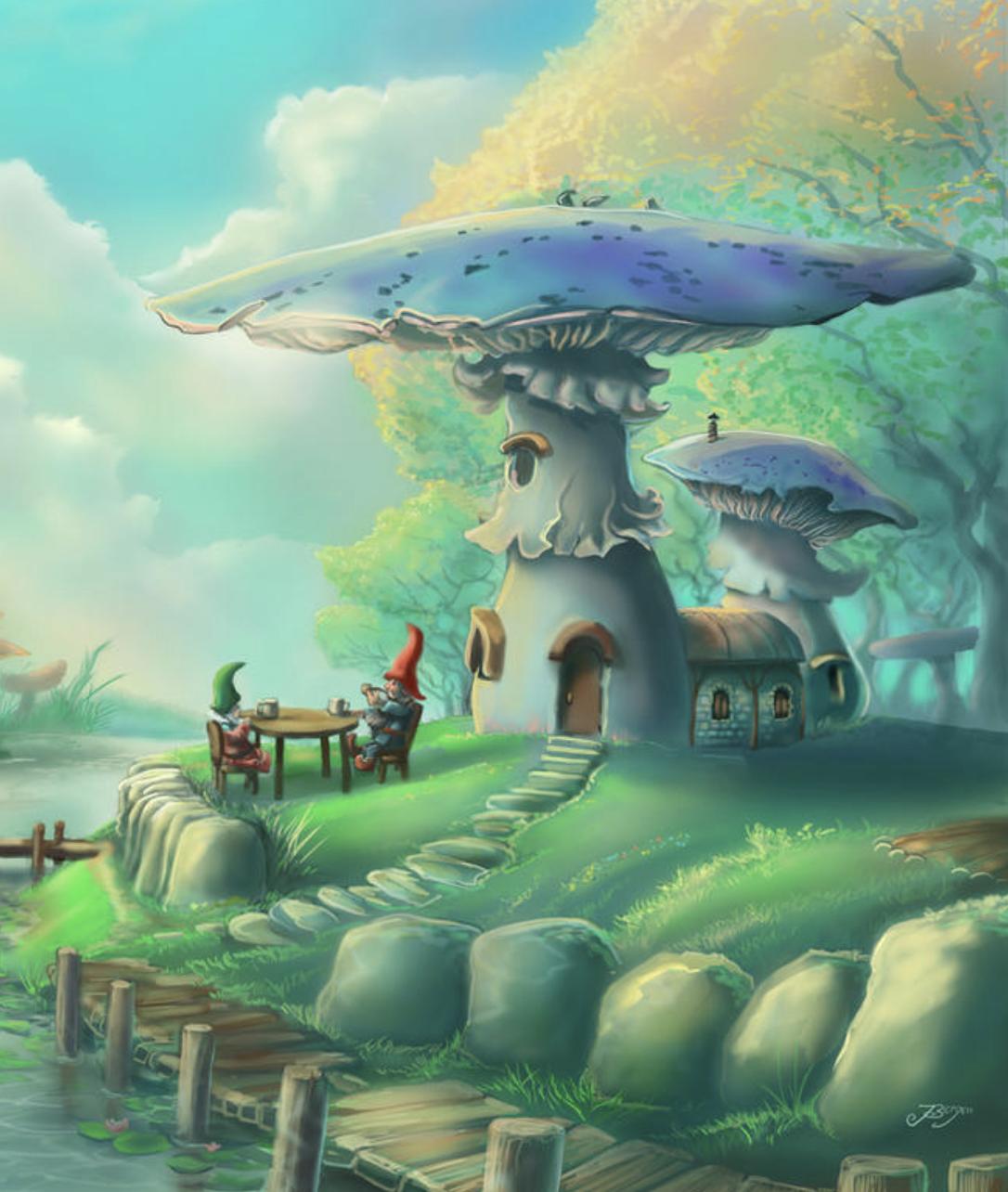 Волшебные миры во снах
